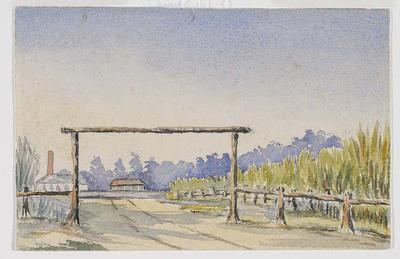 Entrance to Pleystowe Station