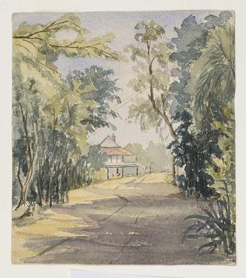 Entrance to Winterbourne homestead