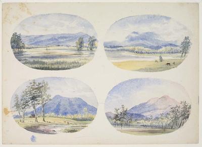 Mt Spencer (four views)