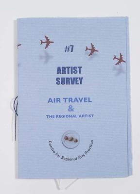 #7 Artist Survey Air Travel and The regional artist